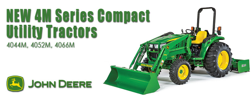 New John Deere 4M Series of Compact Utility Tractors
