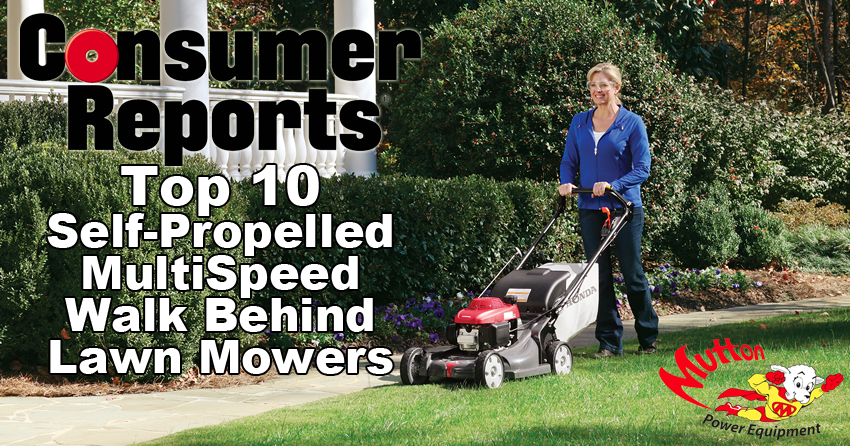 Consumer Reports Top Walk Behind Mowers for 2014