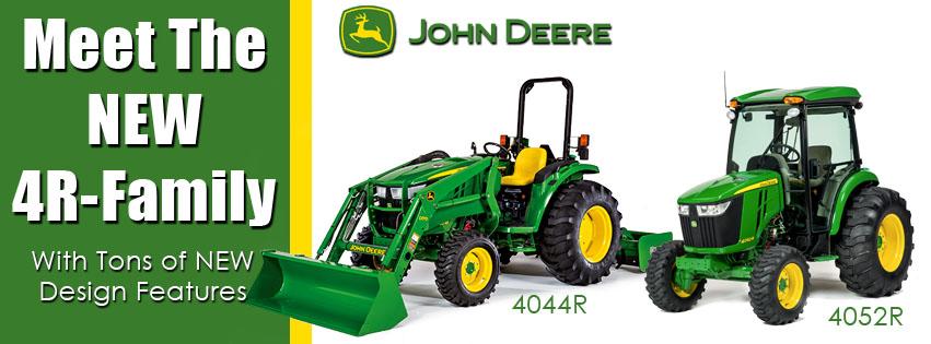 New John Deere 4R Series Compact Utility Tractors
