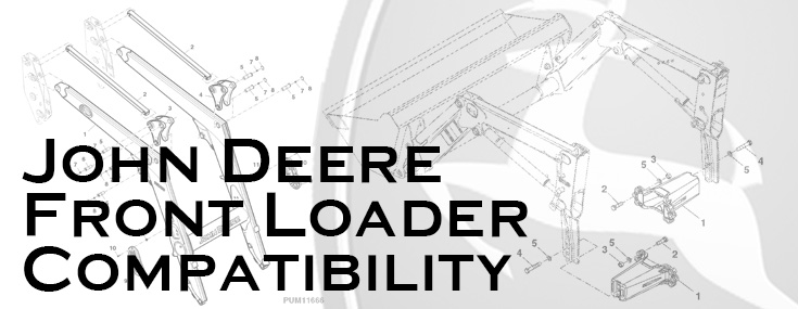 Compatible Front Loaders for Current John Deere Tractors