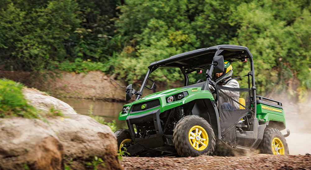 Upgrades to the John Deere XUV 550 & 550 S4 Gators
