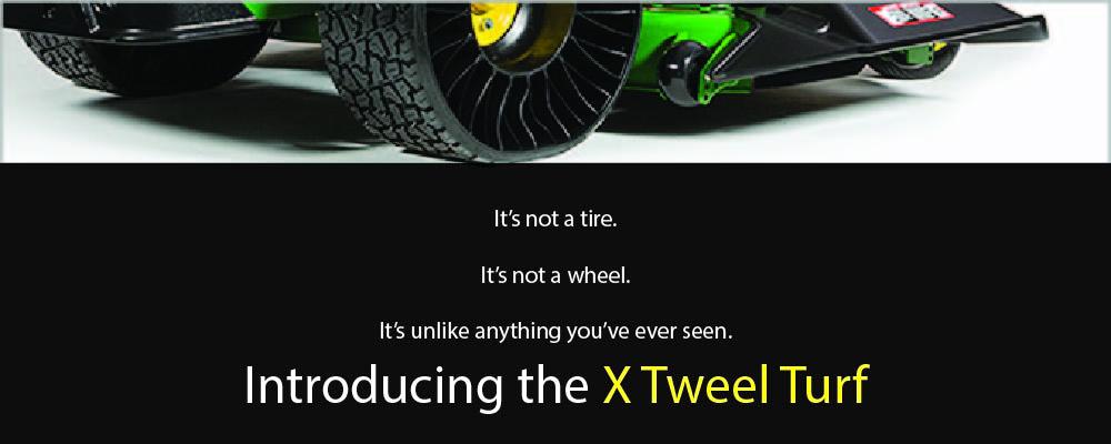 Introducing the Michelin X Tweel for John Deere Commercial Zero Turn Mowers