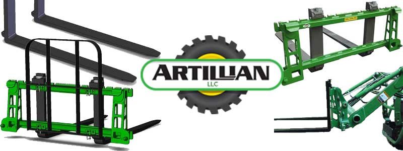 Artillian Tractor Attachments Now Available at Mutton Power Equipment