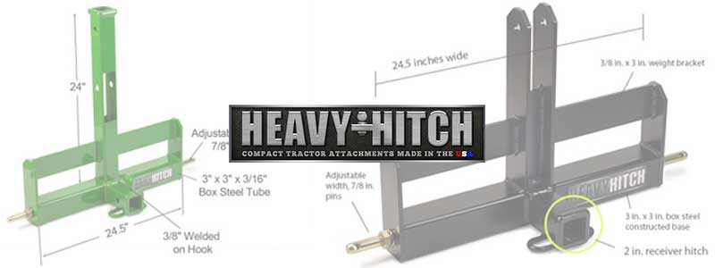 Heavy Hitch Tractor Attachments Now Available at Mutton Power Equipment
