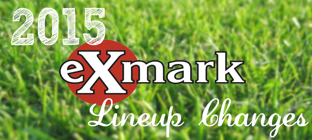 New 2015 Exmark Products and Features