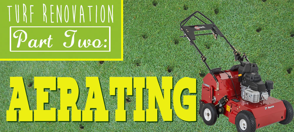 Turf Renovation Part Two: Aerating