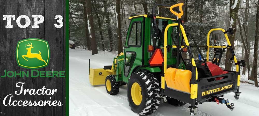 New John Deere Tractor Accessories