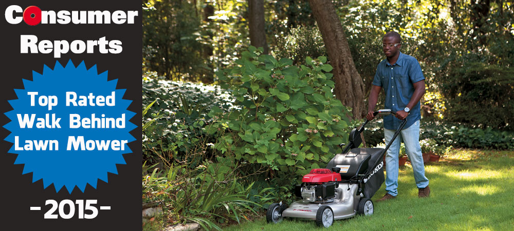 Consumer Report's Top Lawn Mower of 2015