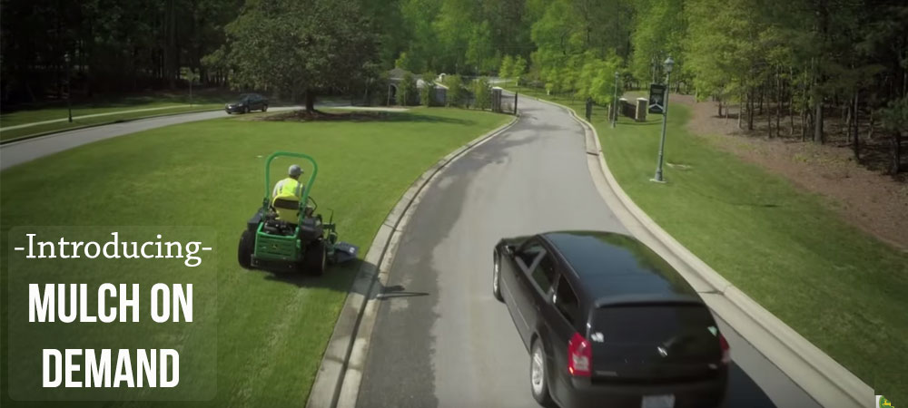 Keep it Clean with John Deere's Mulch on Demand