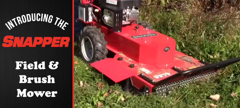 Introducing the Snapper Field & Brush Mower