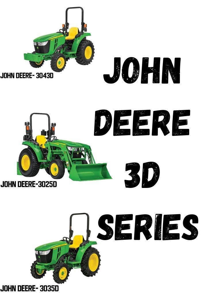 John Deere 3D Series