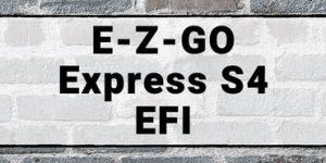 E-Z-GO Express S4 EFI