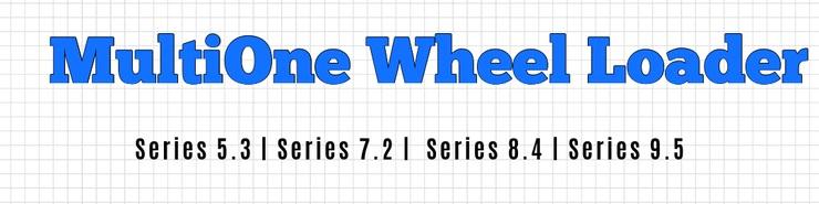 MultiOne Wheel Loader Series 5-9