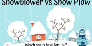 Snowblower or Plow? Which one is best for You?