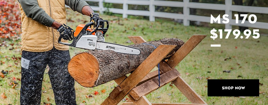 Battery Power Stihl Blowers to help with Fall Leaf Pickup