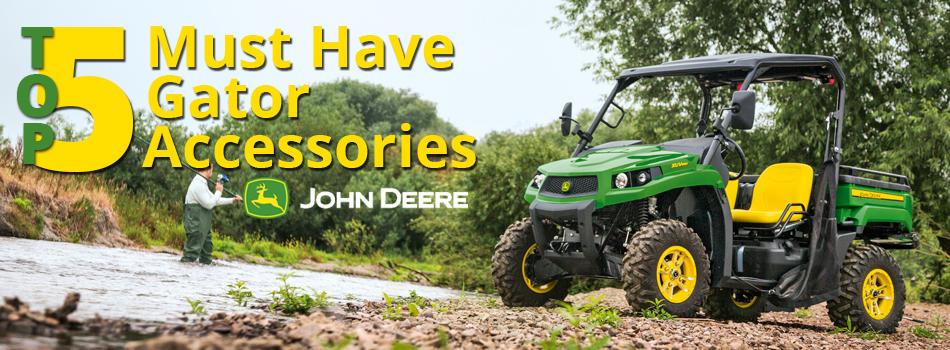 John Deere Gator Accessories >> Top 5 Must Have Gator Accessories Mutton Power Equipment