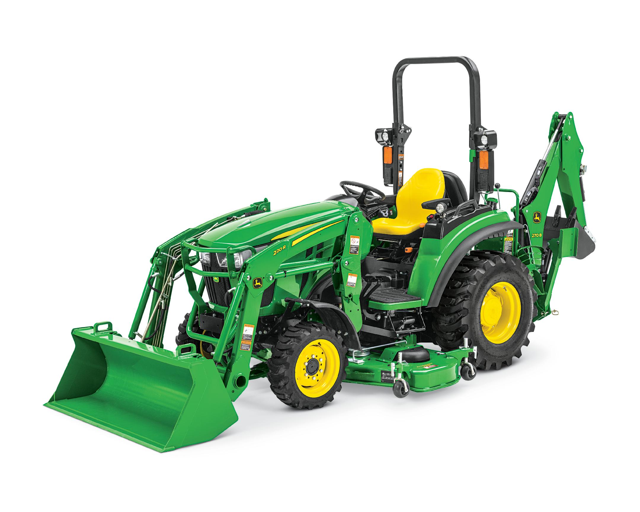 john deere 2038r compact tractor